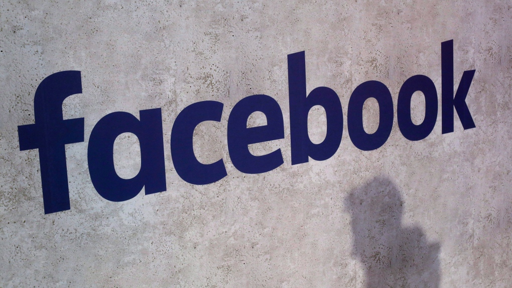 Facebook logo (THE CANADIAN PRESS / AP file photo)