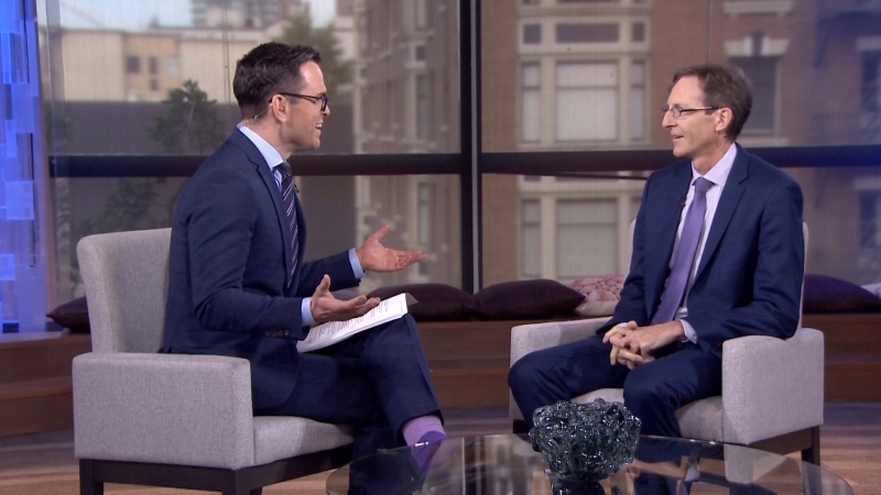 CTV News Vancouver's David Molko sits down with ICBC CEO Nicolas Jimenez to ask questions about the new, controversial insurance model.