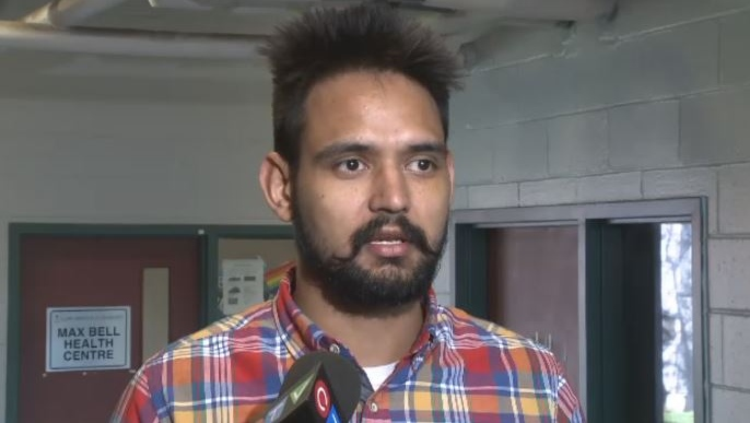 Akashdeep Singh Brar, an international student who drives a cab in Sydney, says a customer became irate and started yelling obscenities and racial remarks.