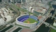 CTV MONTREAL: A proposal for a baseball stadium i