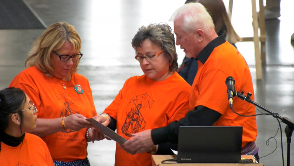 Sept 30 was officially proclaimed Orange Shirt Day in Calgary