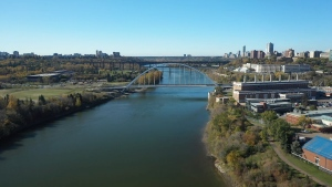 North Saskatchewan River, Edmonton, Walterdale