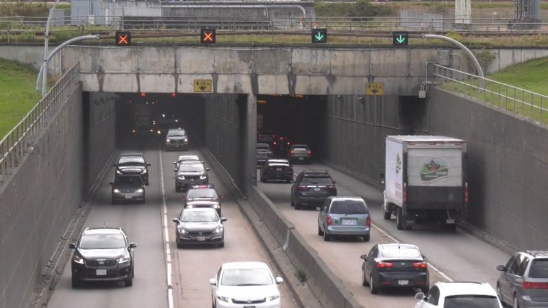 Even though an eight-lane tube tunnel is now the focus of further discussion surrounding a replacement for the George Massey tunnel in the lead-up to a final decision, the preferred option of a Metro Vancouver Task Force isn't sitting well with everyone. (CTV)