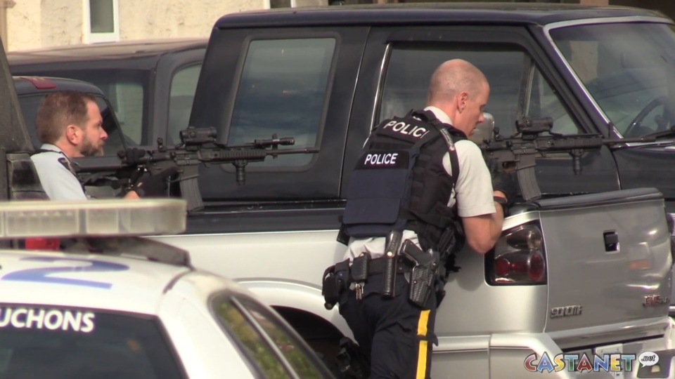 Penticton stand-off
