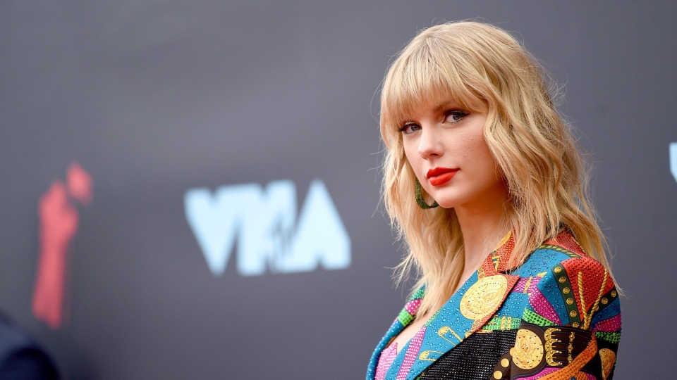 Taylor Swift attends the 2019 MTV Video Music Awards at Prudential Center on August 26, 2019, in Newark, New Jersey. (Jamie McCarthy/Getty Images for MTV)