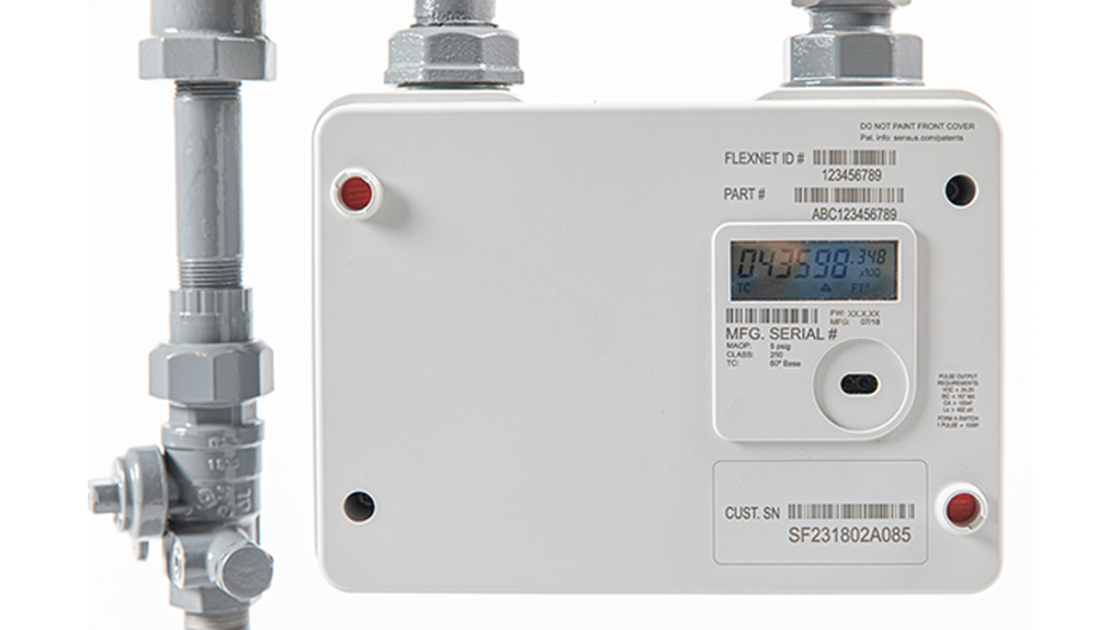 FortisBC gas meter
