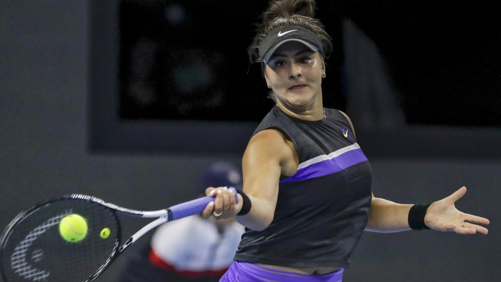 Bianca Andreescu's winning streak comes to an end