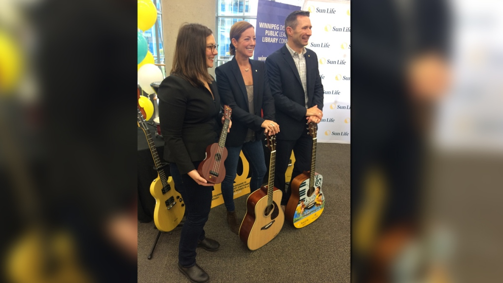 Sarah McLachlan helps launch instrument lending program in Winnipeg