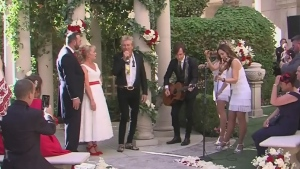 Rod Stewart the wedding singer