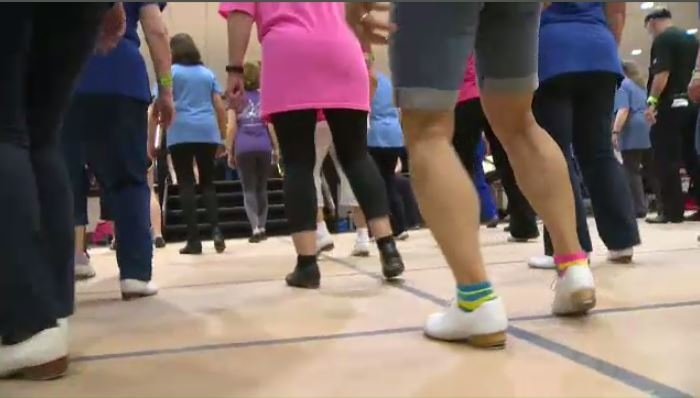 A two-day clogging event is taking place at the Inn of Waterloo.
