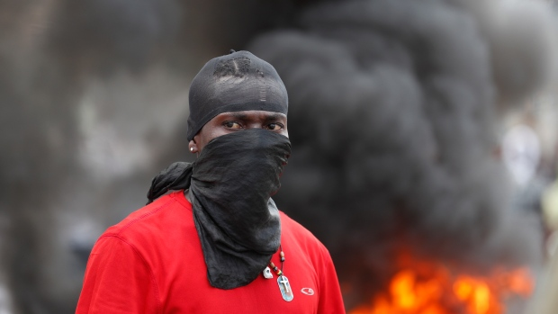 Protests in Haiti
