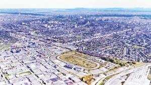 Plans for the Namur-Hippodrome neighbourhood (image: City of Montreal)
