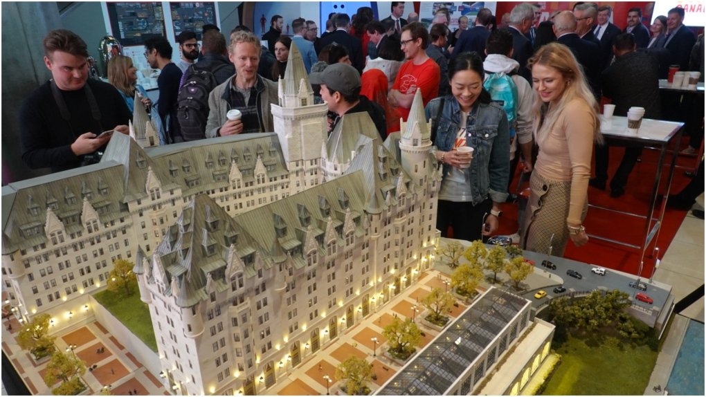 Multi-million dollar model of famous Canadian sites set to open at Yonge-Dundas Square next year