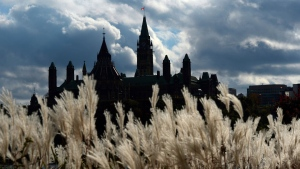 Parliament Hill in Ottawa is viewed from the shores of Gatineau, Quebec on Oct. 22, 2013. THE CANADIAN PRESS/Sean Kilpatrick