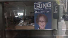Heather Leung campaign signs