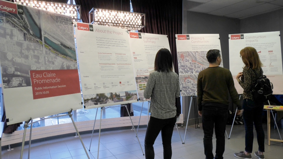 An open house was held Saturday to gather more feedback on the proposed new Jaipur Bridge.
