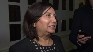 B.C. NDP cabinet minister Jinny Sims was accused of using personal emails to allegedly circumvent the province's freedom of information laws and of writing letters to support visa applications for 10 Pakistani citizens who were on a security watch list. (File photo)