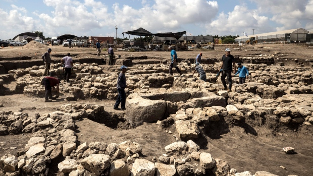 Israeli archaeologists discover 5,000-year-old 'cosmopolitan' city buried next to highway