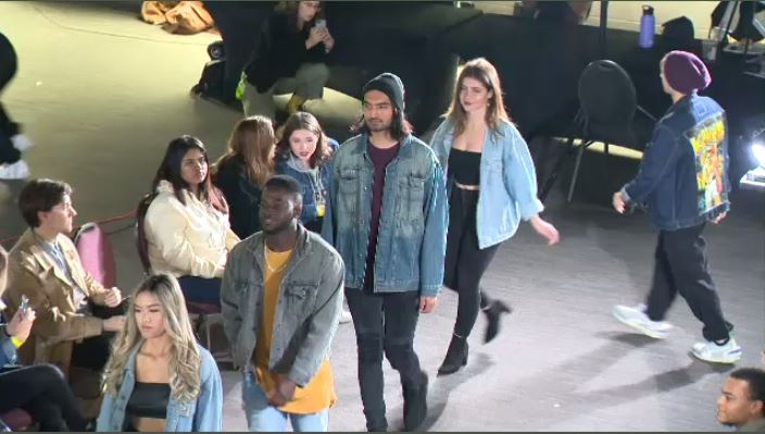 Local fashion show features sustainable clothing items
