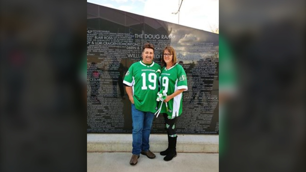 Married at Mosaic Stadium