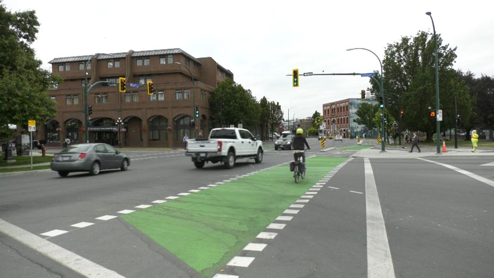 John Horgan complains about bike lanes