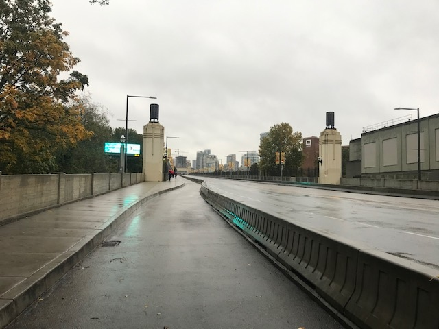 Burrard Street Bridge closed