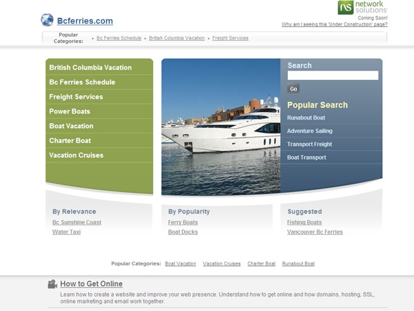Glitch sends BC Ferries users to other website | CTV News