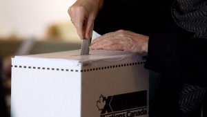 Elections, Canada, ballot, box, federal election