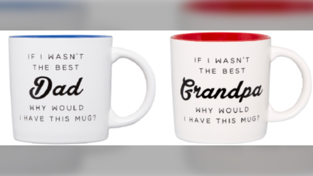 'Best dad' mugs sold at Indigo recalled due to 'burn and laceration hazard'