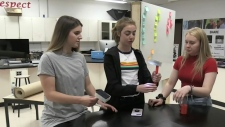 NB students help to end light poverty