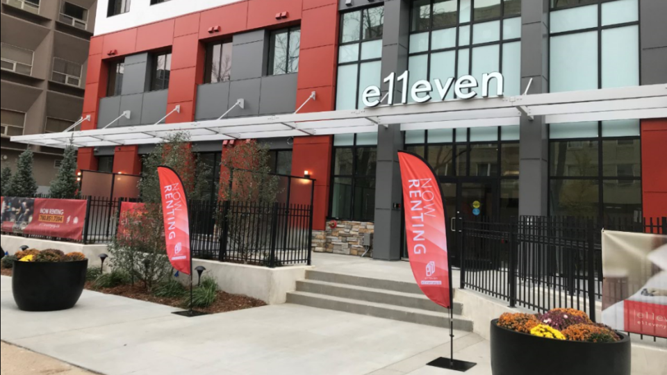E11even, a former office tower converted to a residential space, officially opened Oct. 7 but has been home to residents since September.