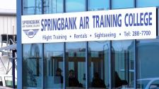 Lawsuit, WestJet, Springbank, Air Training
