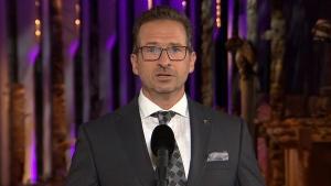 Bloc Quebecois Leader Yves-Francois Blanchet.