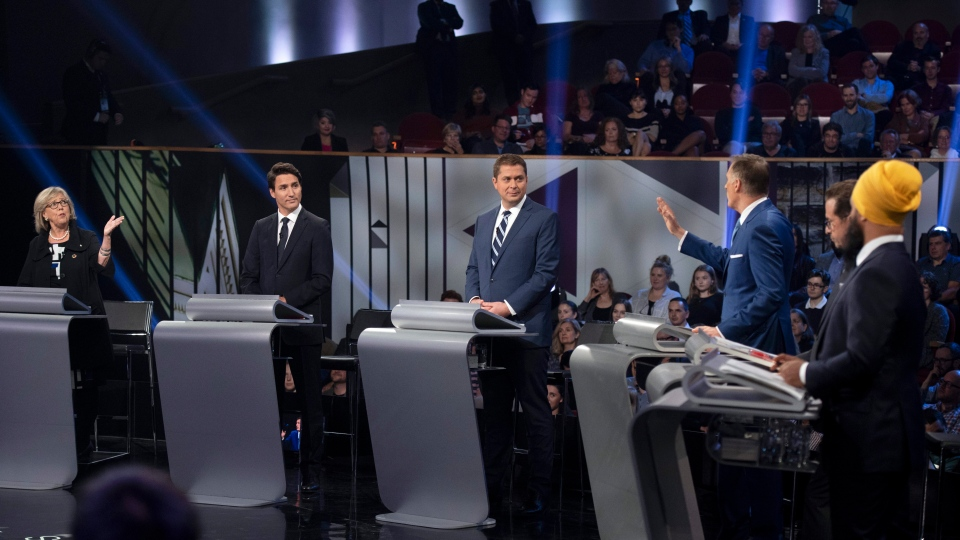 Federal leaders' debate