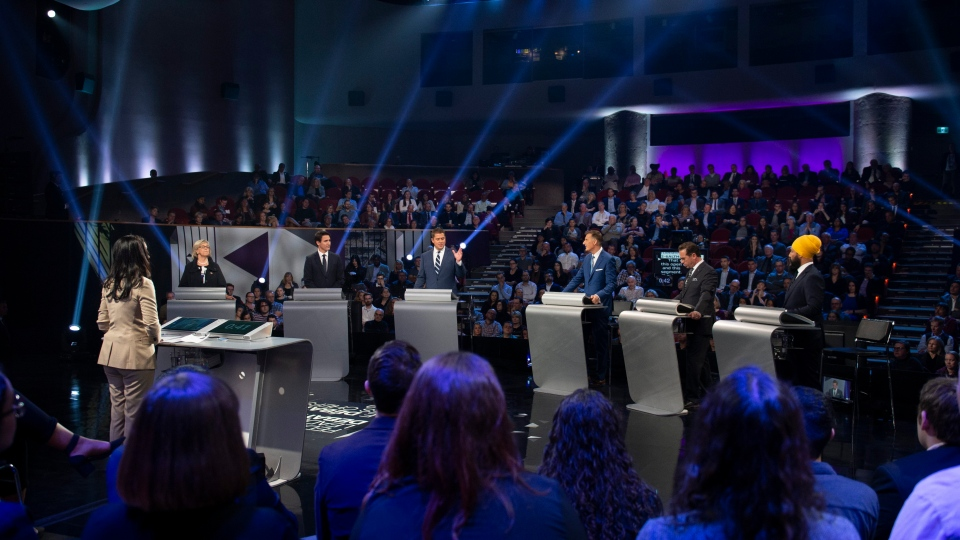 English leaders debate