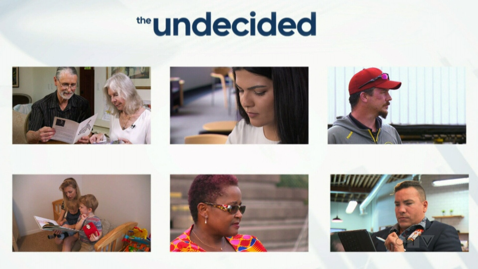 CTV National News: The undecided voters