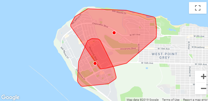 Nearly 5,000 customers without power near UBC