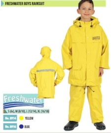Freshwater rainsuit