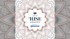 2019 RISE Awards logo