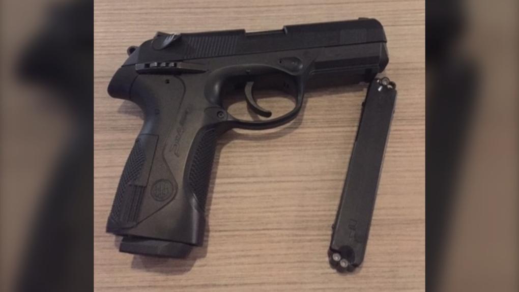 replica handgun west shore rcmp