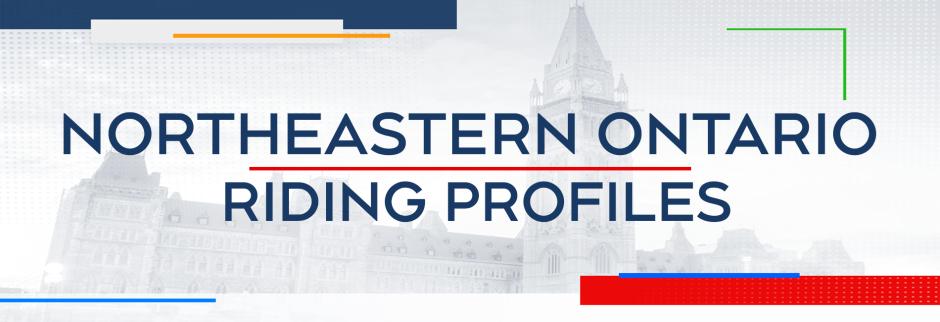 Northeastern Ontario Riding Profiles header