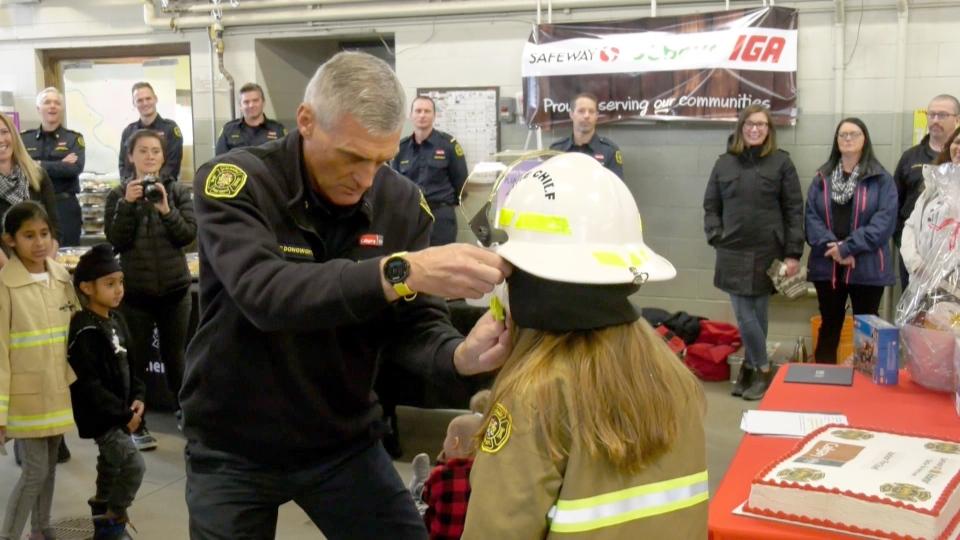 Calgary Junior Fire Chief