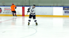 Watch:Not only is he a great golfer, but Kiefer Jones was named to national blind hockey team. Glenn Campbell reports.