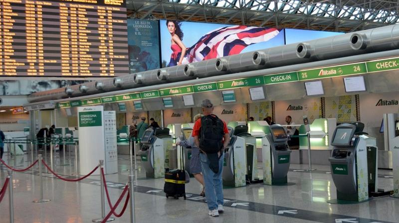 Alitalia pilot strike grounds 35 per cent of flights | CTV ...