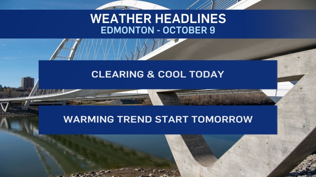 October 9 weather headlines