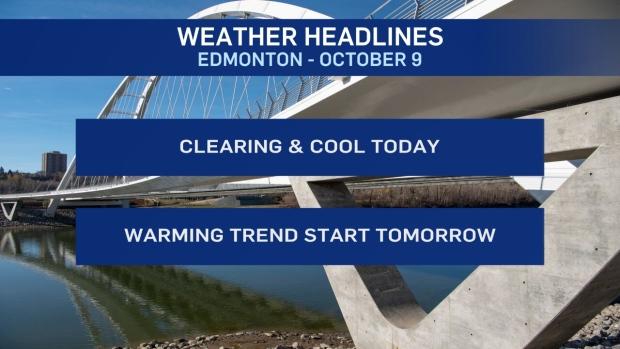 October 9 weather headlines