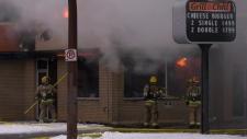 DQ, fire, Centre Street,
