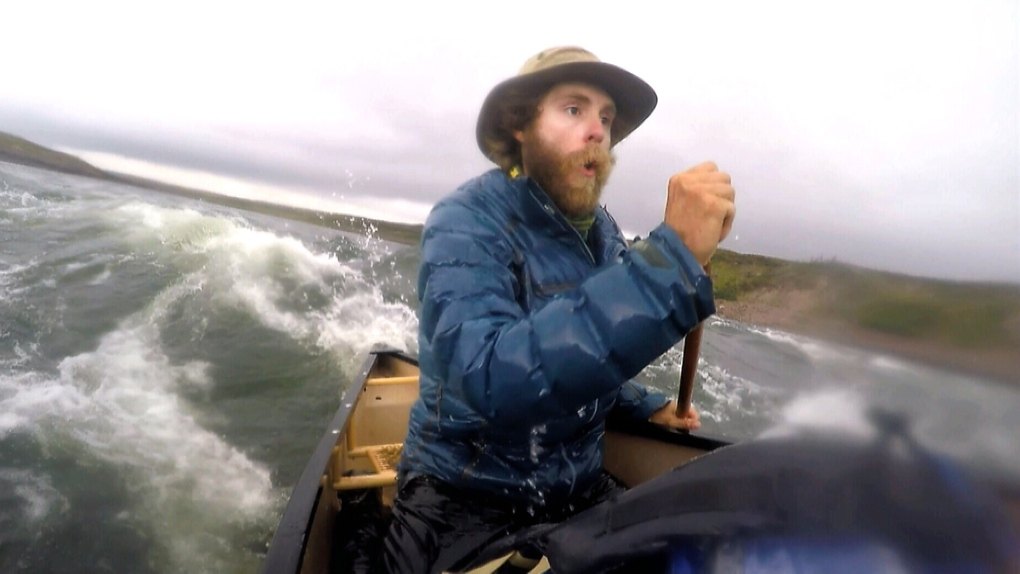 Canadian Adam Shoalts canoe-trips 4,000 km across Arctic, through ice floes and mosquito swarms