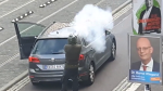 Social media video shows suspected German gunman