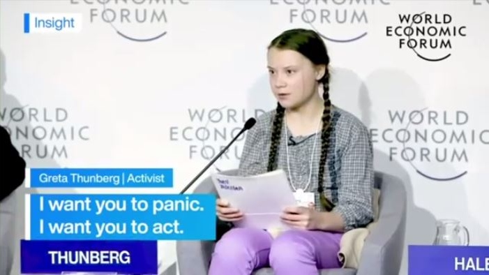 Sixteen-year-old Greta Thunberg demonstrated her anxiety about climate crisis on the world stage.